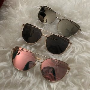 "Cat eye ""Tiffany"" sunglasses"